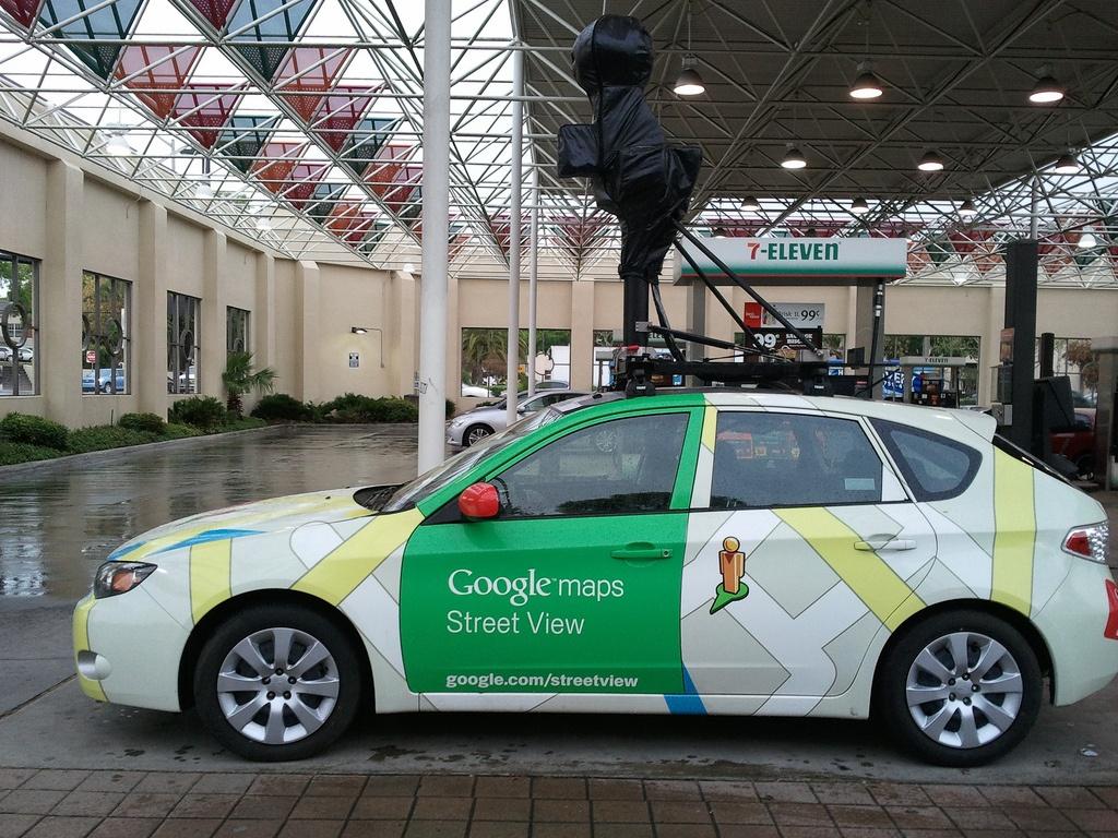 File:google Street View Car In Orlando, Florida - Wikimedia Commons - Google Maps Orlando Florida Street View