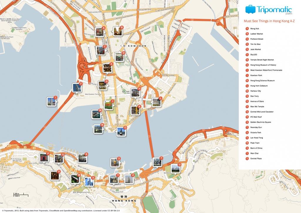 File:hong Kong Printable Tourist Attractions Map - Wikimedia Commons - Hong Kong Tourist Map Printable