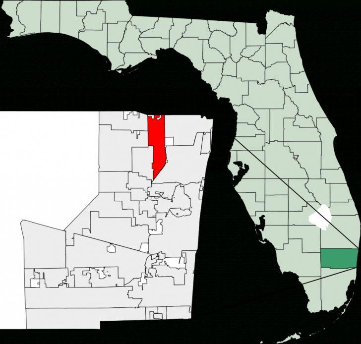 Coconut Creek Florida Map
