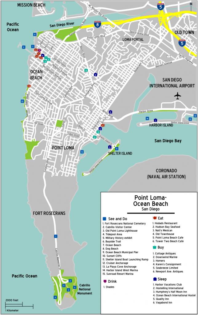 File:pointloma Oceanbeach Map - Wikipedia - Map Of Ocean Beach California