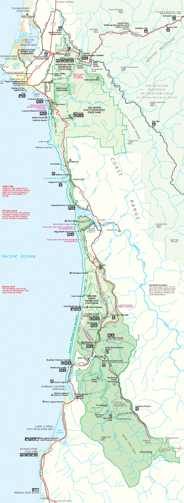 File:redwood-Np Map - Wikimedia Commons - Where Is The Redwood Forest In California On A Map