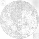 File:walter Goodacre's Map Of The Moon (1910) - Wikimedia Commons - Printable Moon Map