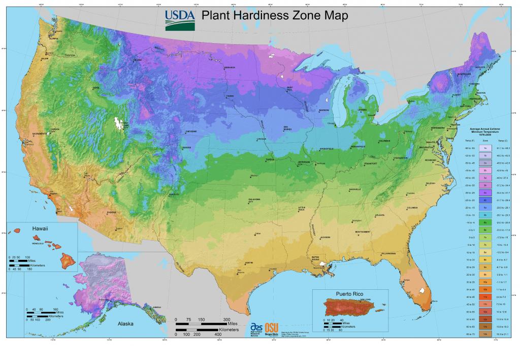 Find Your Growing Zone   Gardeninminutes - Florida Growing Zones Map
