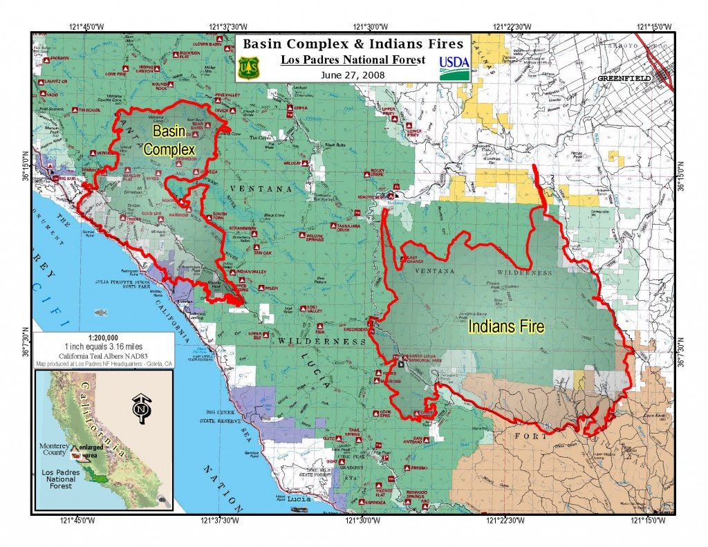 Fire In California Update Map | Download Them And Print - California Fires Update Map