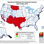 Fire Weather - Texas Forestry Fire Map