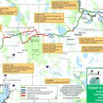 First Completed Segment Of Coast To Coast Trail Opens In Pinellas   Pinellas Trail Map Florida