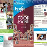 First Look   2015 Epcot Food And Wine Festival Park Maps   Printable Map Of Epcot 2015