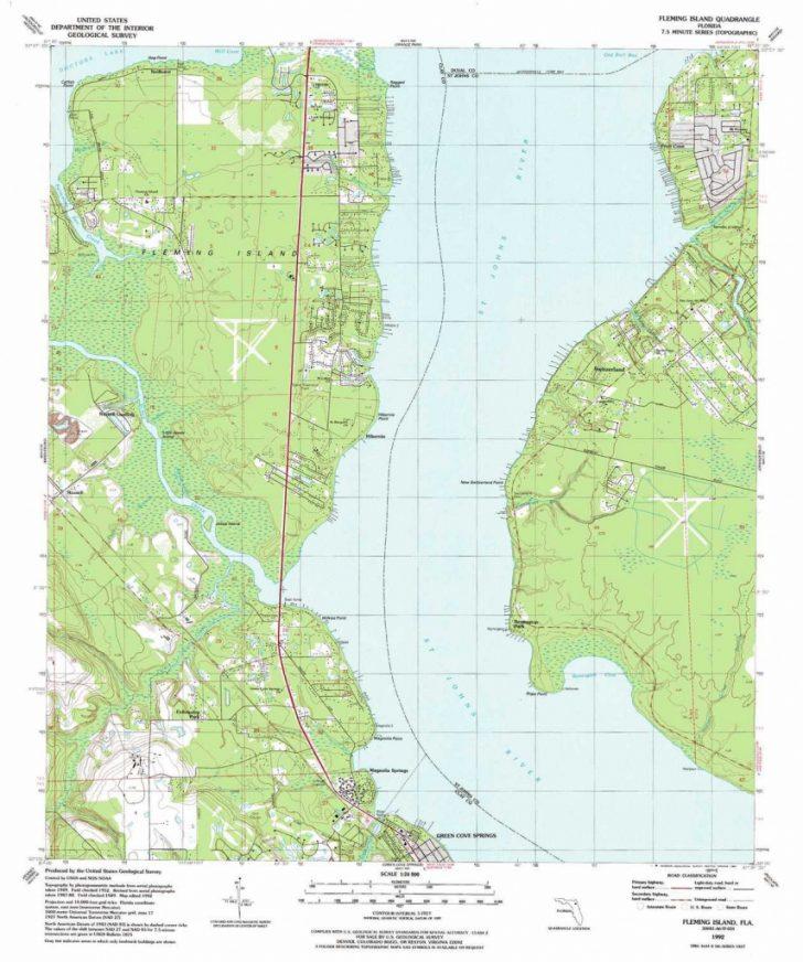 Fleming Island Florida Map