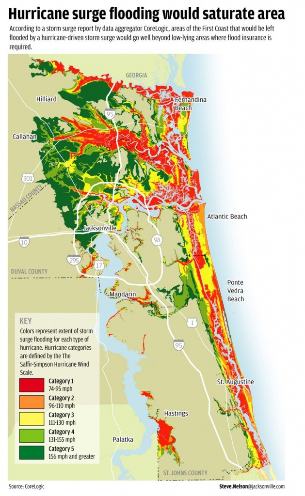 Flood Areas North East Fl.   Florida Living   Florida, Florida - Nassau County Florida Flood Zone Map