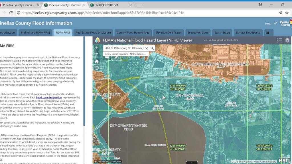 Flood Insurance Rate Map (Firm) Tutorial - Youtube - Flood Insurance Map Florida