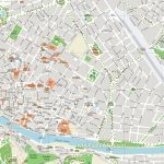 Florence Attractions Map Pdf   Free Printable Tourist Map Florence   Printable Map Of Florence