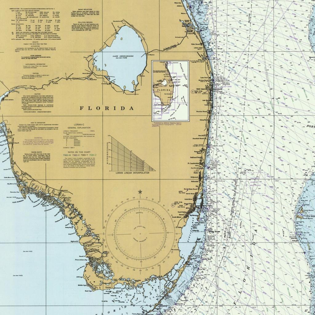 Florida Atlantic Coast Map (1982) Duvet Coverbravuramedia | Society6 - Florida Atlantic Coast Map