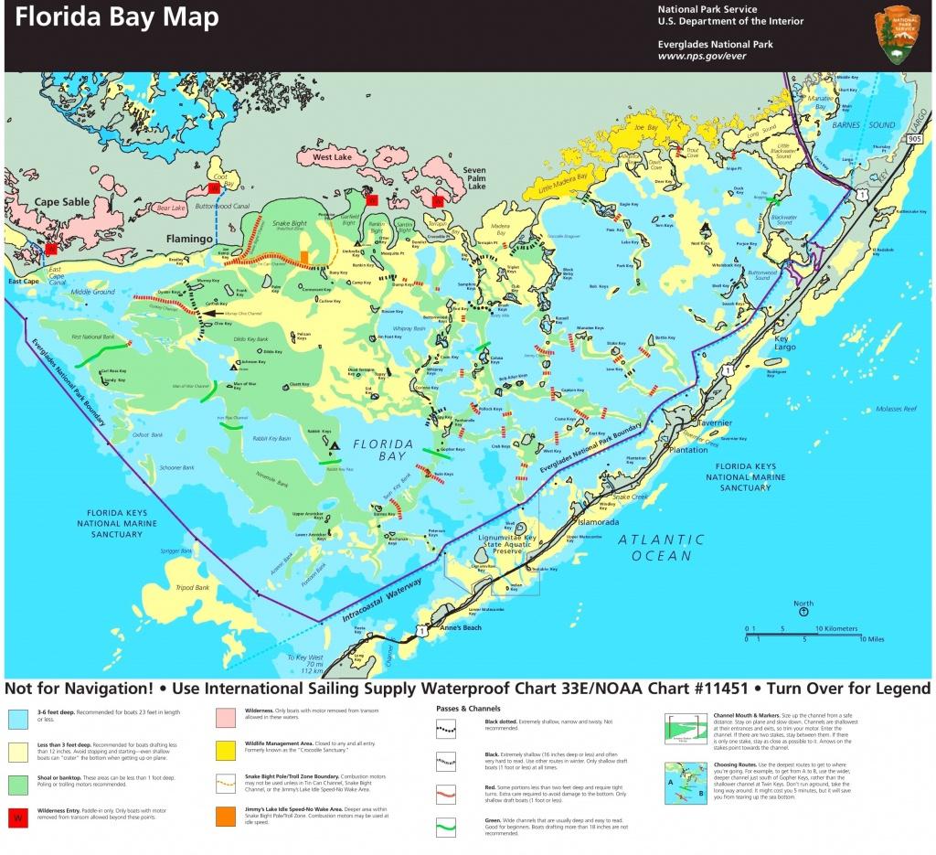 Florida Bay Map 15 Florida Everglades Map | Ageorgio - Florida Everglades Map