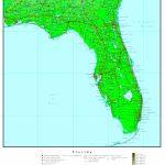 Florida Elevation Map   Intracoastal Waterway Florida Map