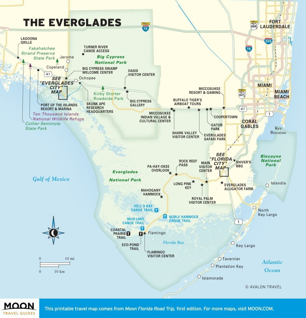 Florida Everglades Map | Ageorgio - Hudson Florida Map