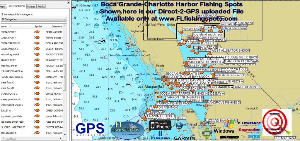 Florida Fishing Maps With Gps Coordinates   Florida Fishing Maps For Gps - Florida Fishing Map