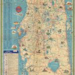 Florida.: Geographicus Rare Antique Maps   Detailed Road Map Of Florida