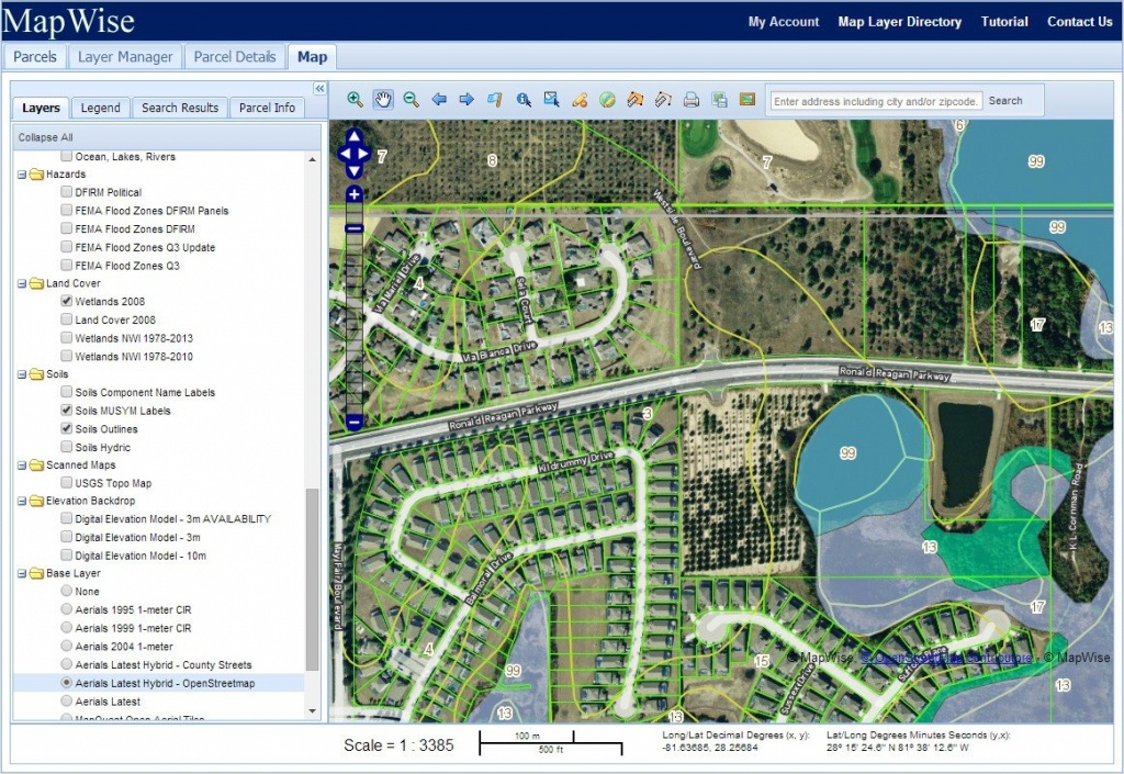 Florida Gis Mapping System For Real Estate Professionals - Florida Real Estate Map