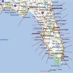 Florida Gulf Coast Beaches Map | M88M88   Map Of Florida Coast Beaches