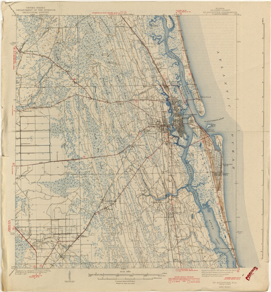 Florida Historical Topographic Maps - Perry-Castañeda Map Collection - Old Maps Of Jacksonville Florida