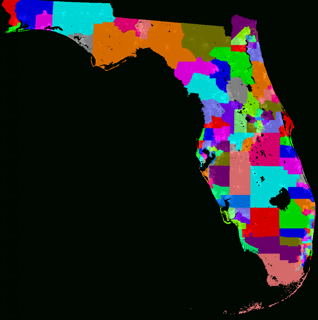 Florida House Of Representatives Redistricting - Florida Congressional District Map