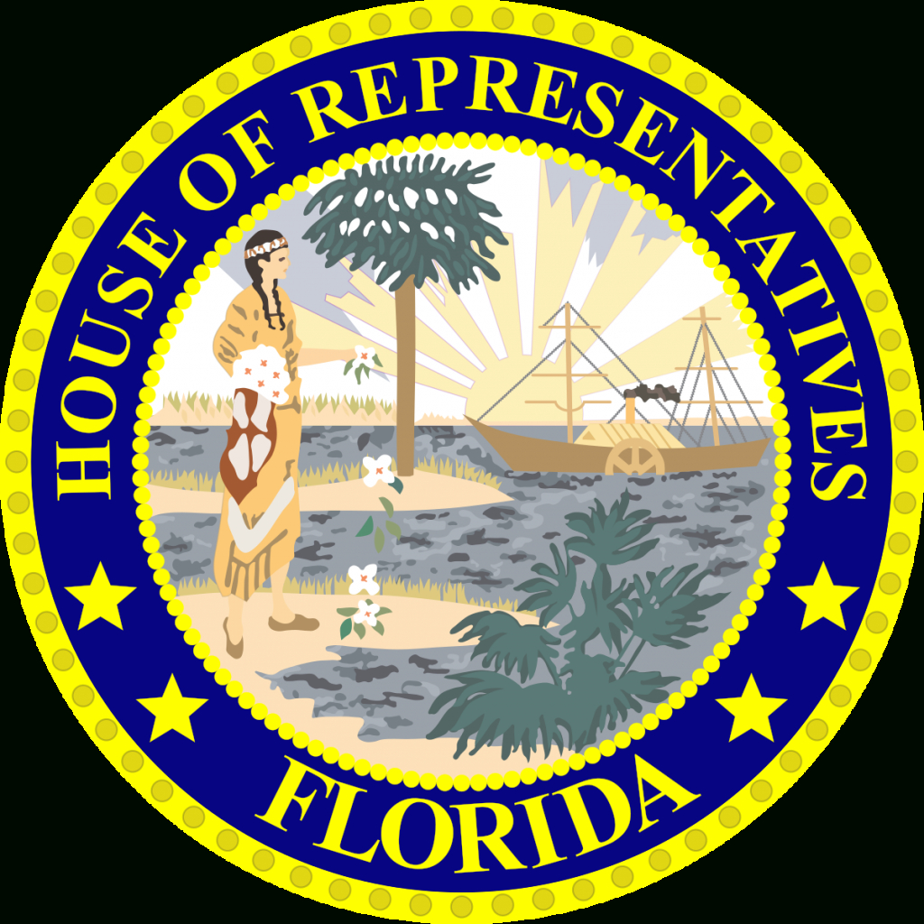 Florida House Of Representatives - Wikipedia - Florida State Representatives Map