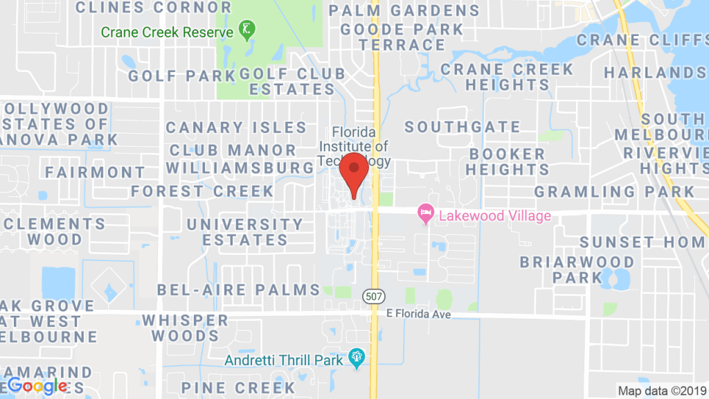 Florida Institute Of Technology In Melbourne, Fl - Concerts, Tickets - Florida Tech Map