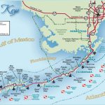 Florida Keys And Key West Real Estate And Tourist Information   Florida Keys Map With Mile Markers