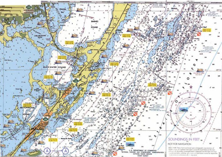 Florida Keys Nautical Map