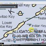 Florida Keys Fishing Map And Fishing Spots   Youtube   South Florida Fishing Maps