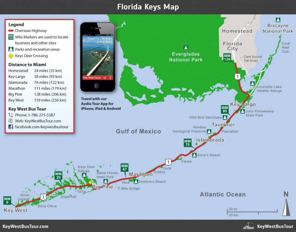 Florida Keys Map :: Key West Bus Tour - Detailed Map Of Florida Keys