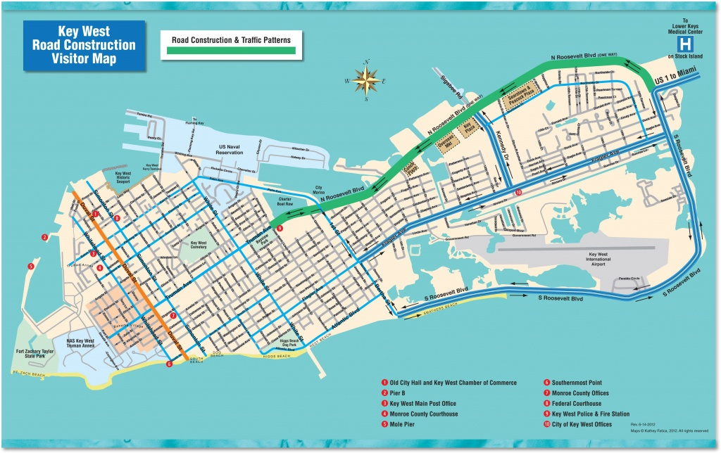 Florida Keys Travel Info & Maps For A Possible Upcoming Road Trip - Key West Florida Map Of Hotels