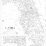 Florida Map Black And White Stock Photos & Images   Alamy   Florida Map Black And White