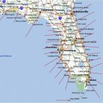 Florida Map East Coast Cities And Travel Information | Download Free - Florida East Coast Beaches Map