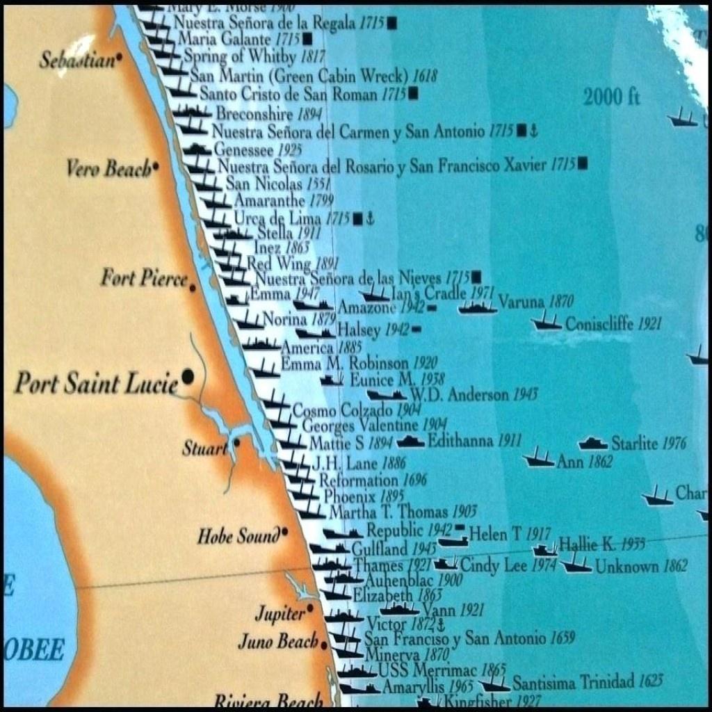 Florida Map East Coast Cities - Map Of Florida East Coast