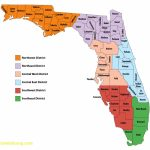 Florida Map With Counties   Lgq   Central Florida County Map