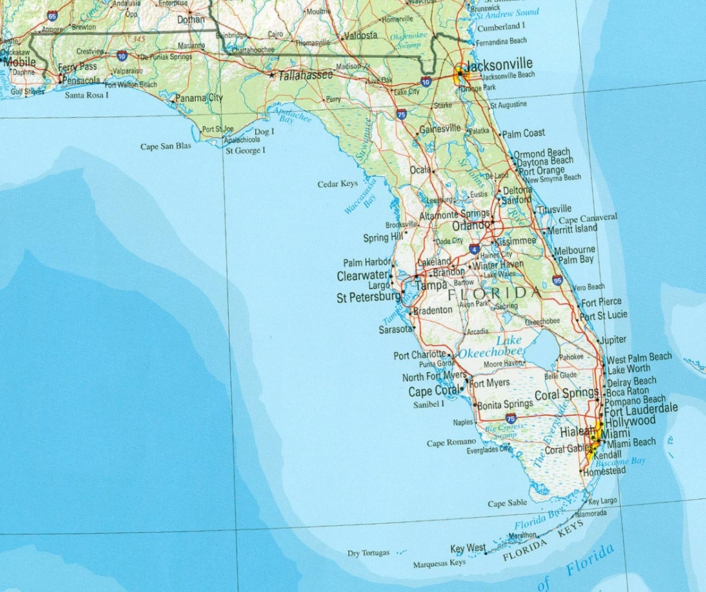Florida Maps - Perry-Castañeda Map Collection - Ut Library Online - Coral Beach Florida Map