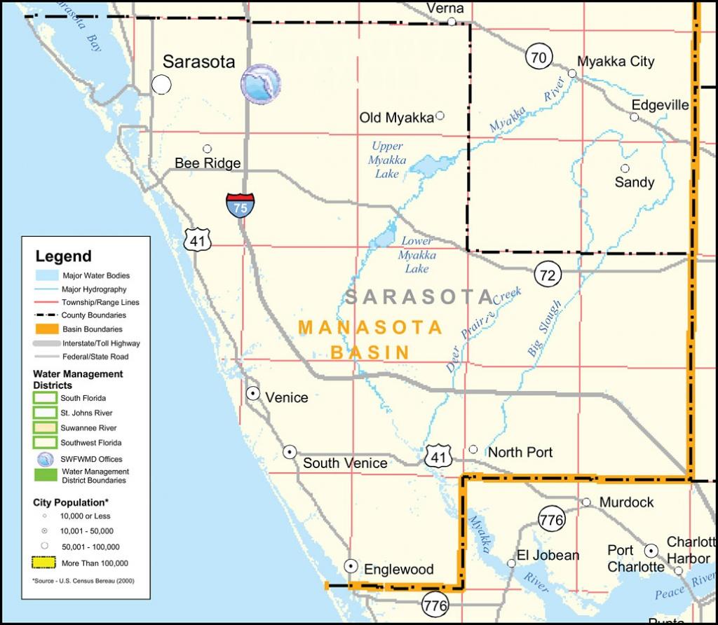 Florida Maps - Sarasota County - Sarasota Florida Map Of Florida
