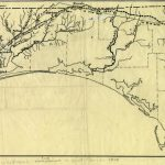 Florida Memory   Map Of Andrew Jackson's Route In West Florida, 1818   Coldwater Creek Florida Map