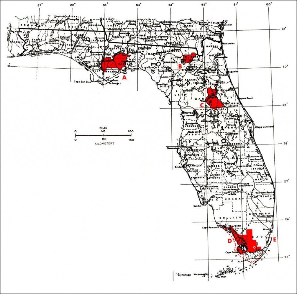 Florida National Parks | National Forests, Everglades National Park - National Forests In Florida Map