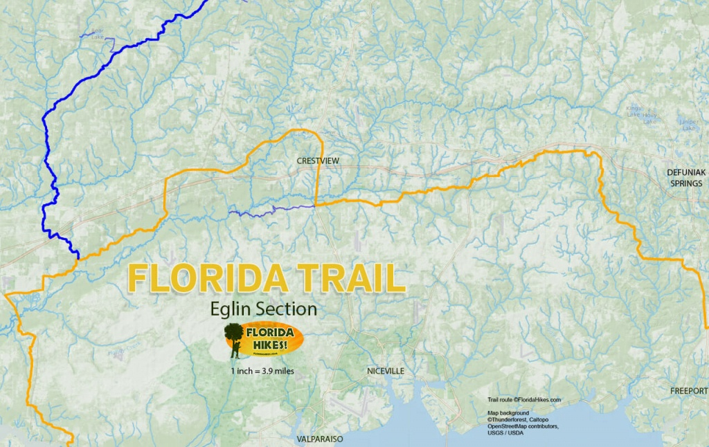 Florida Outdoor Recreation Maps | Florida Hikes! - Florida Hikes Map