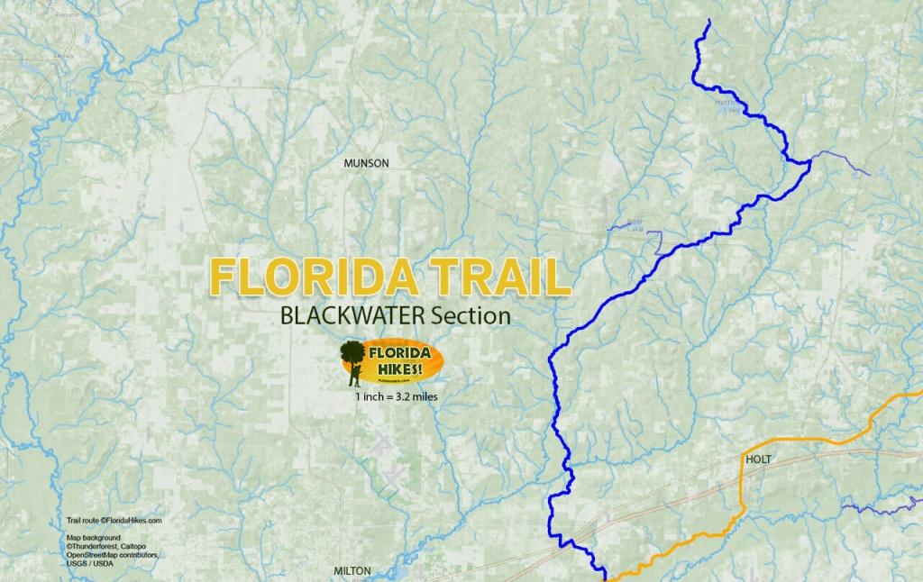 Florida Outdoor Recreation Maps | Florida Hikes! - Hobe Sound Florida Map