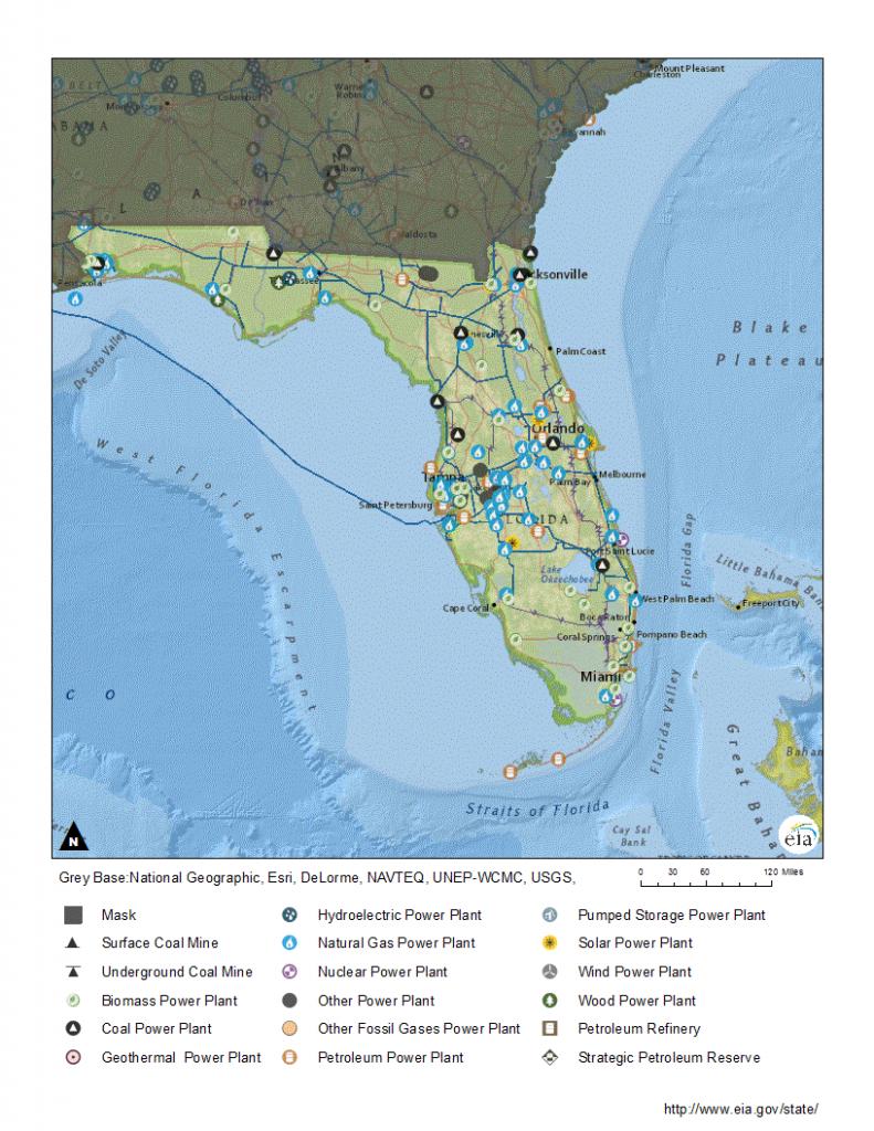 Florida Profile - Florida Natural Gas Map