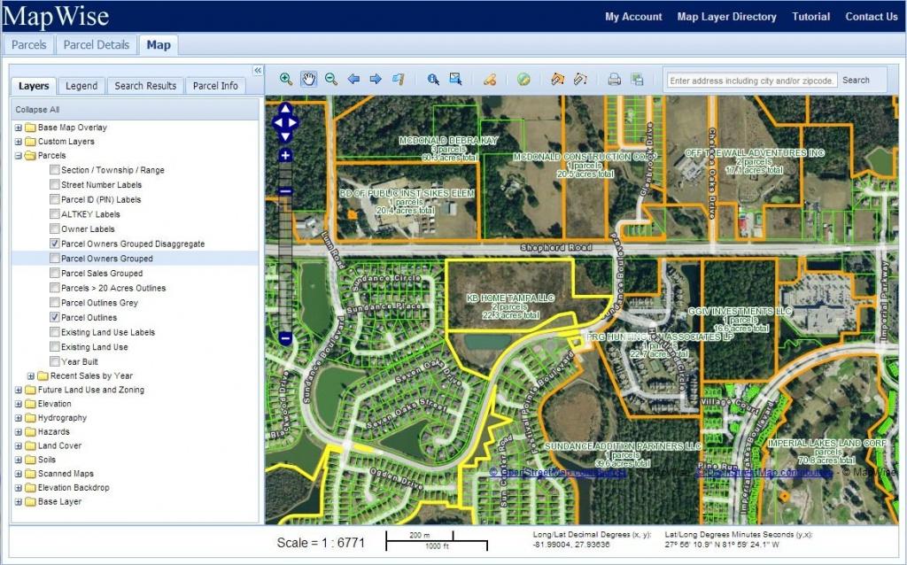 Florida Property Appraiser Parcel Maps And Property Data - Polk County Florida Parcel Map