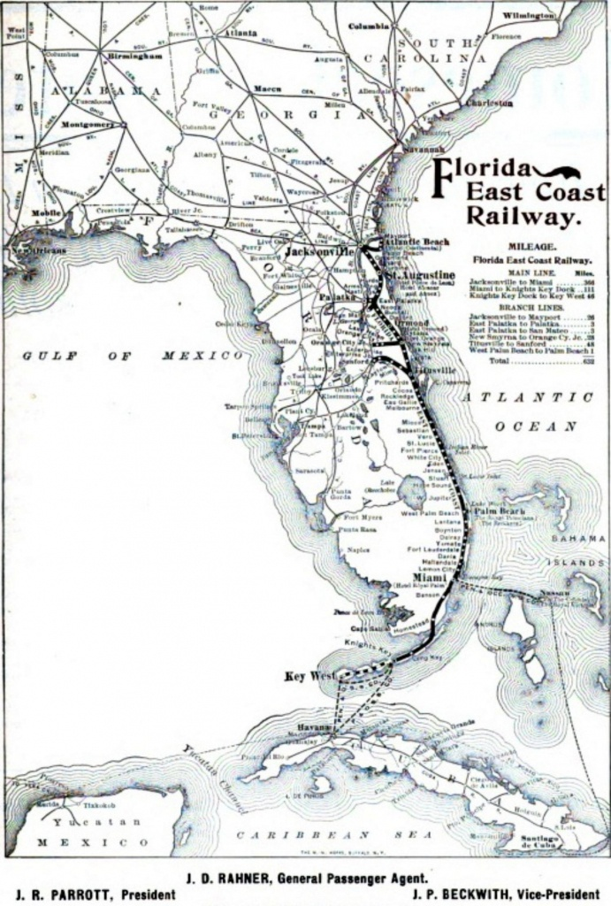Florida Railroad Map And Travel Information | Download Free Florida - Florida Railroad Map