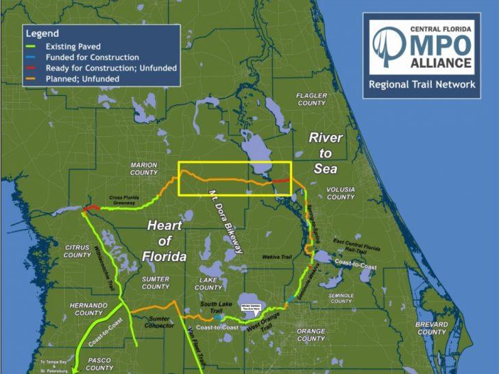 Florida Rails To Trails Maps