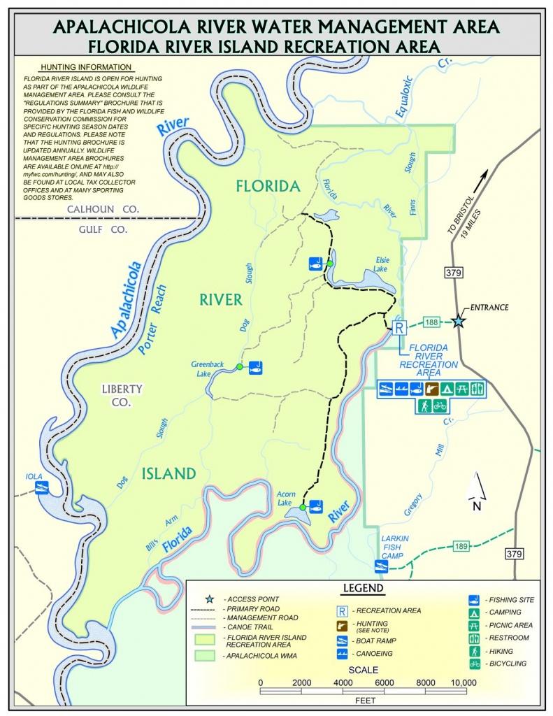 Florida River Island | Northwest Florida Water Management District - Northwest Florida Water Management District Map