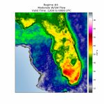 Florida Sea Breeze Thunderstorm Climatology   Seabreeze Florida Map