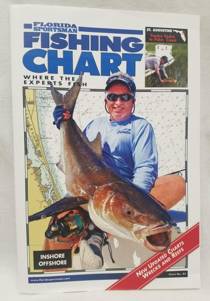 Florida Sportsman Fishing Cart St. Augustine Pontre Vedra To Palm - Florida Sportsman Fishing Maps