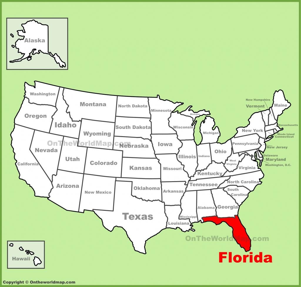 Florida State Maps   Usa   Maps Of Florida (Fl) - Boca Delray Florida Map